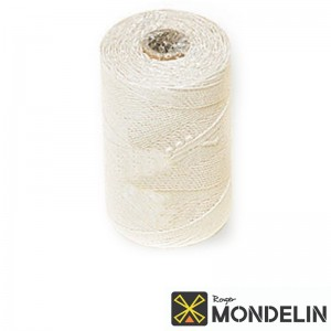 Cordeau en bobine coton tressé Mondelin