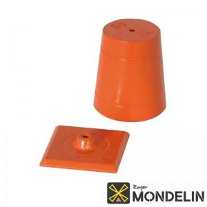 Plomb de maçon avec plaquette Mondelin