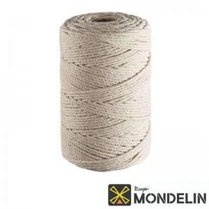 Cordeau en bobine coton câblé Mondelin 215M