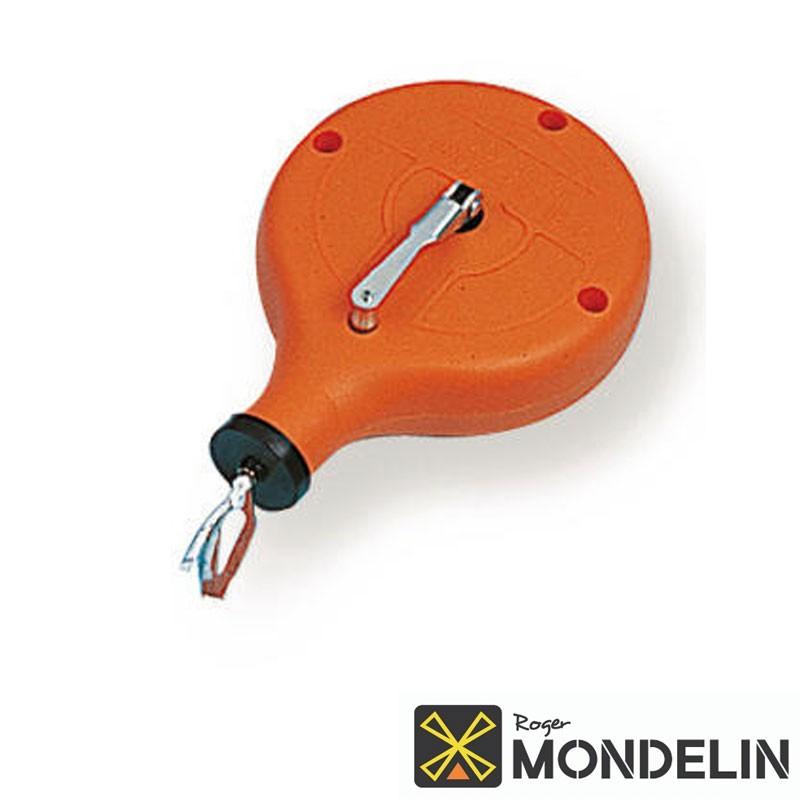 Cordeau-traceur boîtier rond Mondelin 30M