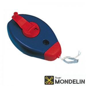 Cordeau-traceur boîtier Mondelin bleu/rouge