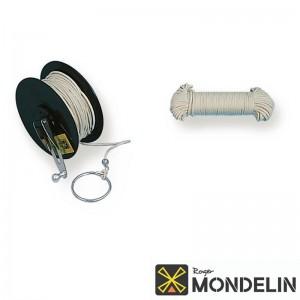Cordeau de rechange en bobine coton tressé Mondelin 30M