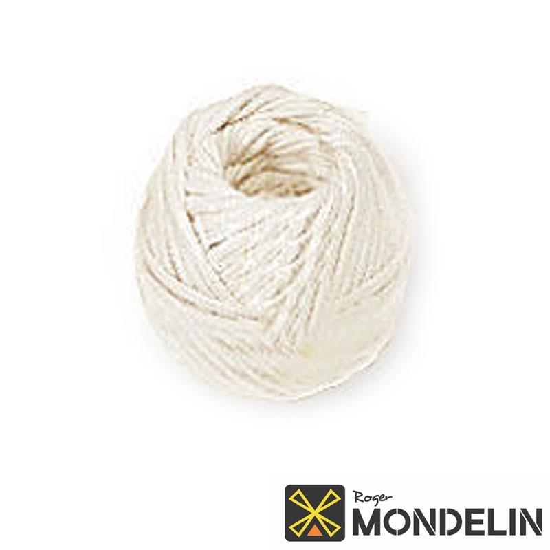 Cordeau en pelote coton tressé Mondelin