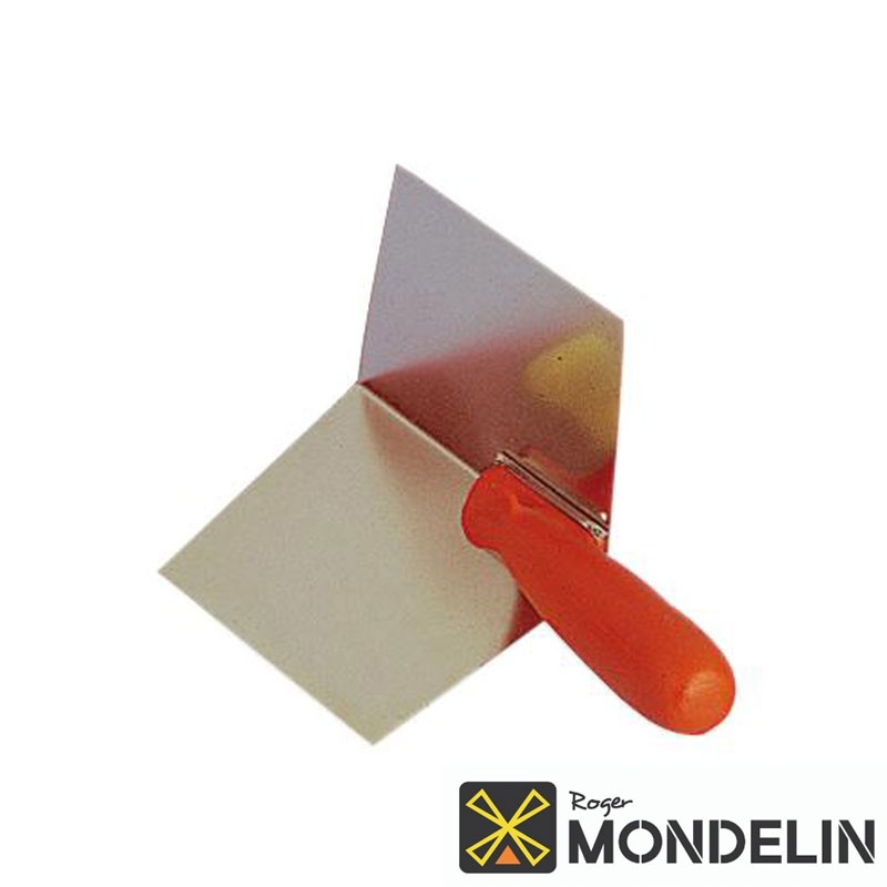 Truelle d'angle intérieur inox Mondelin