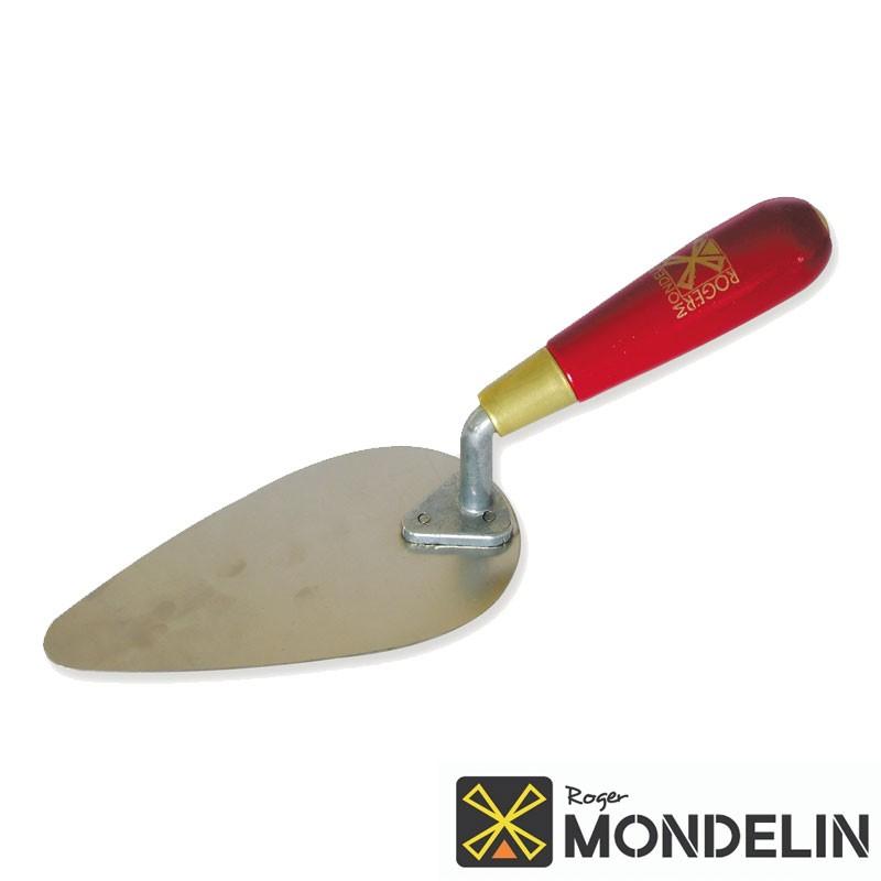 Truelle façon reims inox/bois Mondelin 16cm
