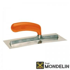 Platoir courbé plaquiste inox Mondelin 28x12cm