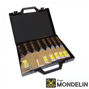 Malette 7 spatules + 1 couteau multi-usage Mondelin