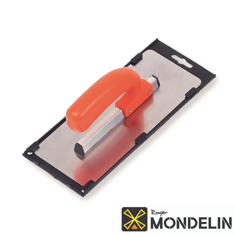 Platoir arrondi souple inox/plastique Mondelin 24x11cm