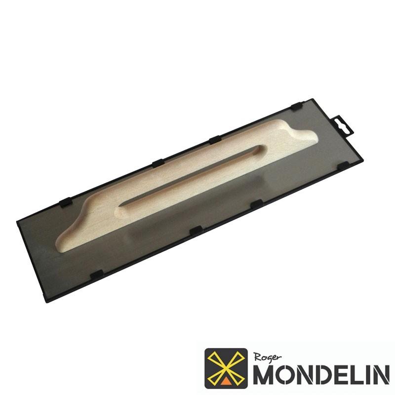 Platoir 2 mains Suisse acier/bois Mondelin 50x14cm