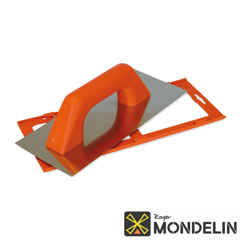 Platoir biseauté Espagnol inox/plastique Mondelin 28x12cm