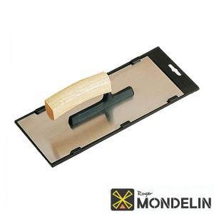 Platoir Alsace inox/bois Mondelin 28x12cm