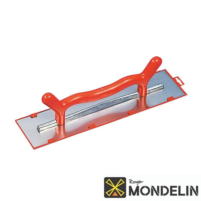 Platoir 2 mains biseauté inox/plastique Mondelin 50x12cm