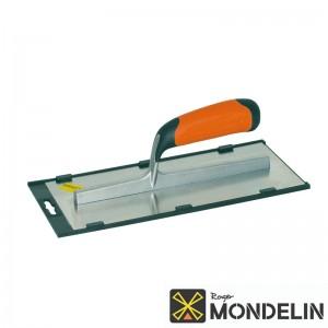 Platoir courbé inox/bi-mat Mondelin 28x12cm