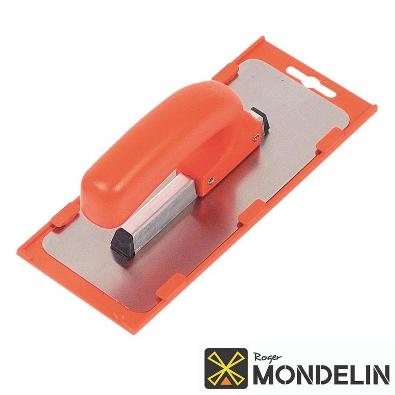 Platoir arrondi biseauté souple inox/plastique Mondelin 20x8cm