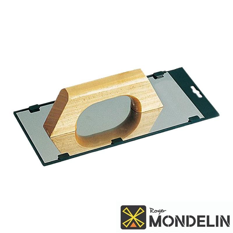 Platoir Espagnol inox/bois Mondelin 30x14cm