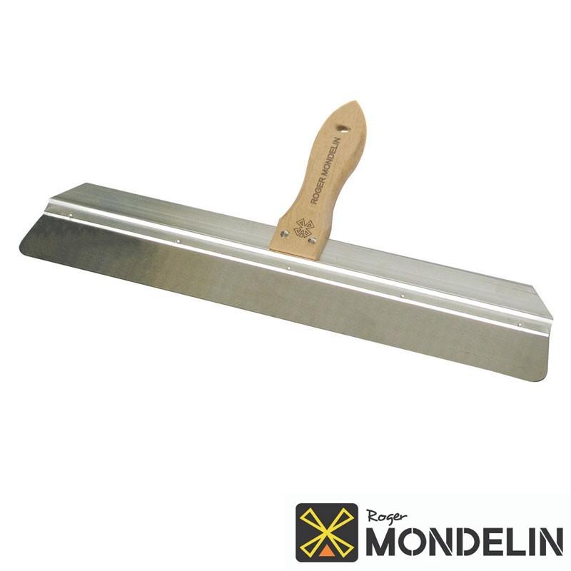 Couteau à enduire bords arrondis inox/bois Mondelin 60cm