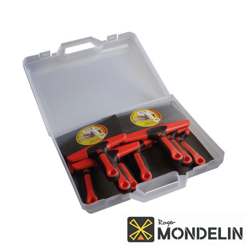 Mallette 8 couteaux à enduire Premium Mondelin